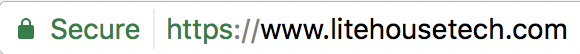 Secure URL example