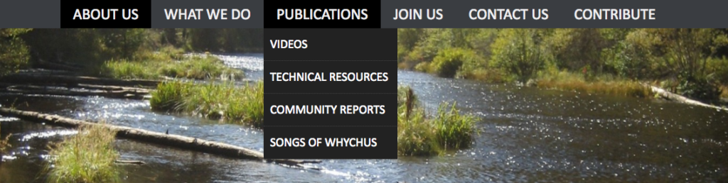 Upper Deschuhtes Watershed Council's Online Reports